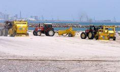 El Servicio de Limpieza de Playas de la Diputación de Valencia está poniendo a punto la costa Puçol