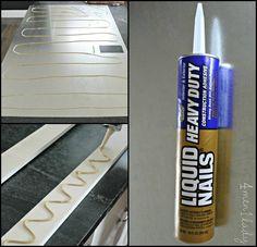 DIY make magnetic board - sheet metal  DOUBLES AS DRY ERASE!