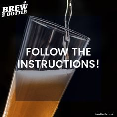 When you first start to enjoy the craft of brewing your own beer, wine or cider, especially with kits, it's easy to want to jump the gun and start pimping your brews with additional hops or flavourings, which is great, but before you do this, first try to hone your skills following the manufacturers instructions, for best results. 🍺 Brew Your Own Beer, Home Brewing, It's Easy, Shot Glass, Gun, Bottle, Tableware, Tips, Crafts