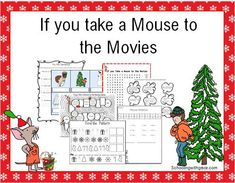 Have some Holiday fun with this unit study based on the book If you Take a Mouse to the Movies. Perfect for 1st and 2nd Graders