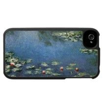 Water Lilies (1906) by Claude Monet Iphone 4 Case by MasterpieceCafe