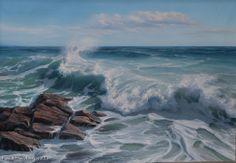 """Aleksey Dalshev  """"Seascape-1"""" $675.00"""