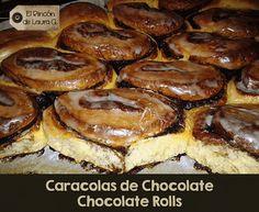 Caracolas de Chocolate | Cocinar en casa es facilisimo.com