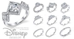 disney engagement rings:  so magical!