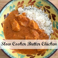 This slow cooker butter chicken recipe is so easy and amazingly delicious. It is the perfect butter chicken recipe, and the perfect simple dinner recipe.