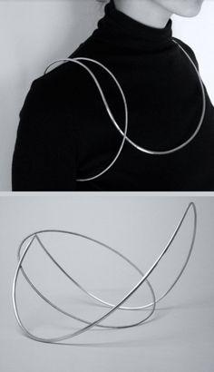 Yuki Kamiya | Silver neckpiece, 2005