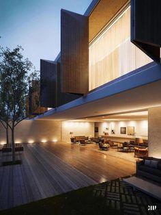 Great Perspective - Casa Panama / Designed by Marcio Kogan Architect