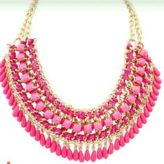 necklace  Beautiful pink fashion necklace.  no trade Jewelry Necklaces