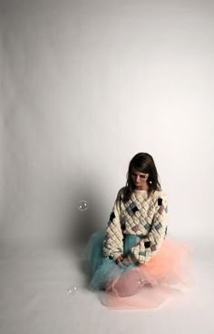 Bubbles and killer sweater