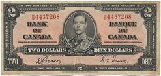 2 Dollars 1937 (George VI) Kanada Monarchie im Commonwealth of Nations