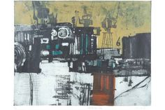 Bonhams Fine Art Auctioneers & Valuers: auctioneers of art, pictures, collectables and motor cars Norman Ackroyd, Jackson's Art, Make Pictures, Urban Landscape, Art Blog, Printmaking, Modern Art, How To Find Out, British