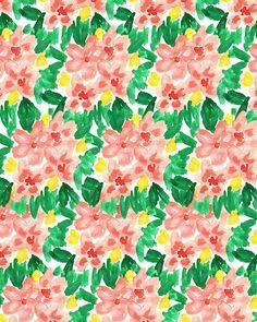 Watercolor Garden II.