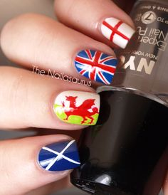 Clawing Your Way to the Top: Nail Art Inspired by the London Olympics