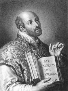 Santo Inácio de Loyola.