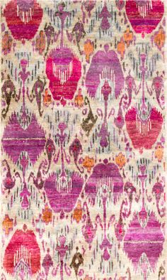 Rug Love: Rumi Silk Collection by Woven Concepts | The English Room / walcott-pastel