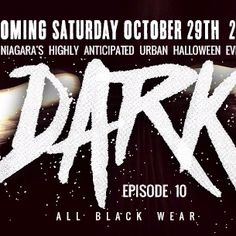 DARK episode 10 ALL BLACK WEAR Halloween 2016, All Black, Dark, How To Wear, Black