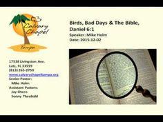 2015-12-02 - Audio - Birds, Bad Days and The Bible, Daniel 6:1, Calvary Chapel Tampa