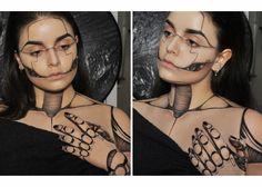 Robot Halloween makeup☆ (/r/MakeupAddiction) : mistyfront