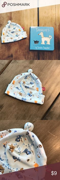 🐶 Zutano Doggie Hat 🐶 Gently used Zutano baby hat-- size 3M-- doggie print-- only worn a couple of times-- great condition-- 100% cotton Zutano Accessories Hats