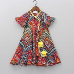 Indian Wear, Ethnic Wear for Girls Baby Frocks Style, Baby Girl Frocks, Frocks For Girls, Girls Dresses Sewing, Stylish Dresses For Girls, Dresses Kids Girl, Baby Dresses, Summer Dresses, Baby Girl Frock Design