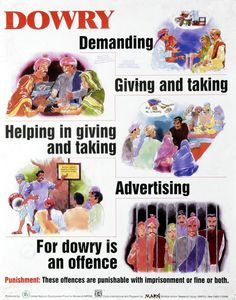 The dowry system for woman in india