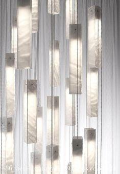 Large chandelier lighting for high ceiling, modern ceiling light for foyer, staircase light or entrance, Glowing white glass art chandelier By international glass & light artist Shimal'e Peleg. Stairway Lighting, Entrance Lighting, Entrance Foyer, Track Lighting, Foyer Chandelier, Chandelier Lighting, Room Lights, Hanging Lights, Ceiling Light Fixtures