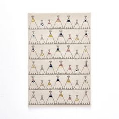 Tapis enfant motif tipis, Zoupiou 80x120 cm 42,49 €