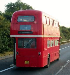 Routemaster double decker bus August 2014