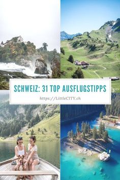 51 wonderful excursion tips in Switzerland - The best excursion tips in Switzerland for a day trip or a great weekend in Switzerland - Places To Travel, Places To See, Travel Tags, Reisen In Europa, Road Trip Hacks, Camping And Hiking, France, Day Trip, Travel Around The World