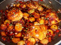 The Recipe Crayon Box: Honey Chipotle Chicken.  Tasty!  I used only two chipolte peppers from the can, one begin very small.  I scrapped all the seeds and veins out knowing i can't handle the heat!  It was still too hot for me.