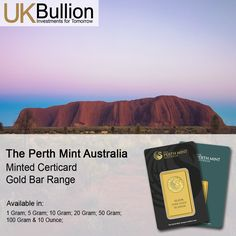 The Perth Mint Bar Collection Mint Bar, Mint Gold, Gold Bullion, Perth, Pure Products, Australia, Collection