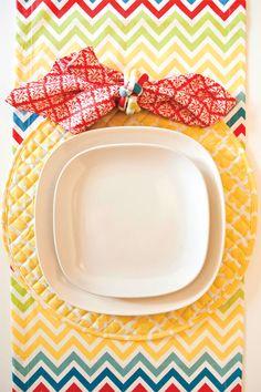 Festive Tablescape for Cinco De Mayo   Hen House Linens