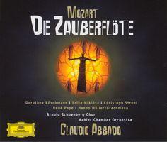 Mozart - La Flauta Magica (The Magic Flute) - Claudio Abbado [2006]. Arnold Schoenberg Choir, Rene Pape, Dorothea Roschmann, Erika Miklosa, Christoph Strehl, Hanno Muller-Brachmann