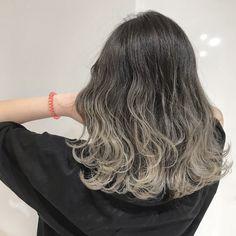 赤みなしグラデーションカラー Balayage Asian Hair, Korean Colors, Love Hair, About Hair, Dyed Hair, Curly Hair Styles, Hair Color, Hair Beauty, Highlights