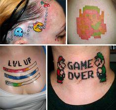 Geek tattoos ... gone wrong