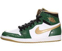 d2641a1b9cfcb3 Nike Air Jordan 1 Retro High OG Mens Basketball Shoes 555088-315 Clover  Green 8 M US