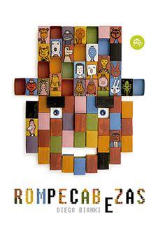 """Desde la tapa, una cara formada por rectángulos multicolores nos mira… son cajas de fósforos pintadas, muchas con otras caritas que resignifican esa cara y todas las ilustraciones del libro, porque funcionan como módulos intercambiables en un verdadero álbum en donde es tan importante el todo como el fragmento, como en el Universo, en el que todos estamos como iguales y """"del que todos somos parte, aunque seamos diferentes""""... #LIJ #Argentina #lectura"""