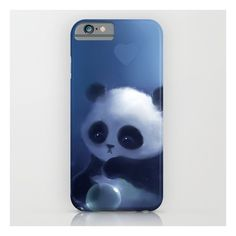Panda iPhone & iPod Case ($35) ❤ liked on Polyvore featuring accessories, tech accessories, phone cases, phone, phonecase, tech and iphone & ipod cases