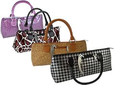 Cool Wine purses!  Be a hit at your next wine party! Boisset Collection  @BoissetUncorked #FreeTheCork