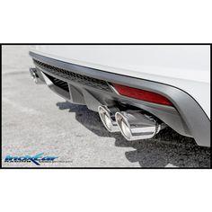 Uscite 2x80 X-RACE dx+sx Audi S1 2.0 TFSI (231cv) QUATTRO Sportback - #Inoxcar #Racing #Tuning #XRACE