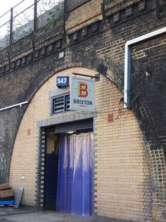 Brixton Brewery is housed in a railway arch unit.
