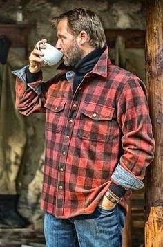25 Rustic Men's Fashion Ideas In 2016 - Mens Craze Rugged Style, Lumberjack Style, Lumberjack Clothing, Lumberjack Outfit, Mode Man, Moda Formal, Style Masculin, Mein Style, Herren Outfit
