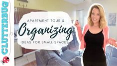 Apartment Tour & Organizing Ideas for Small Spaces Organizing Ideas, Organization, Organising, Easy Projects, Getting Organized, Declutter, Small Spaces, Tours, T Shirts For Women