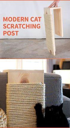 Save your furniture from claws with a stylish cat scratching post. Veja aqui este link >> http://www.universodegatos.com/como-educar-gatos/ ~ Quando adotamos um gatinho devemos ter em conta alguns materiais a escolher, como por exemplo, a alimentação, a areia de gato, os brinquedos mas o principal é o seu espaço! Partilhamos neste album algumas ideias! :D Veja aqui este link >> http://www.universodegatos.com/como-educar-gatos/ ~ Quando adotamos um gatinho devemos ter em conta alguns…