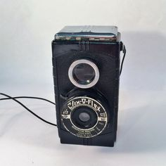 Clix-O-Flex Camera Reflex Style 1940's Bakelite Art Deco Metro Industries USA 127 Film Cameras Vintage Lomography Decor Collecting Cameras by KoolKoolThangs on Etsy