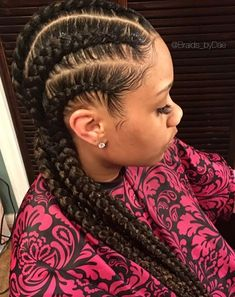 Neat cornrows by @braids_bydae - http://community.blackhairinformation.com/hairstyle-gallery/braids-twists/neat-cornrows-braids_bydae/ #Cornrows