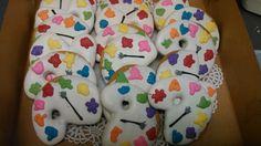 Painters palette cookies
