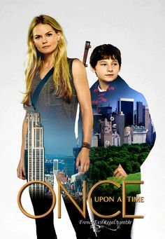 Once upon a time - Jennifer Morrison - Emma Swan – Jared Gilmore - Henry Mills - OUAT
