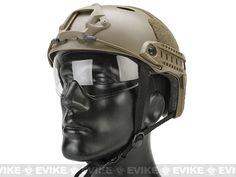 Emerson / Lancer Bump Helmet w/ Flip-down Retractable Visor (PJ Type)