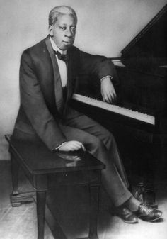 """Tony Jackson: openly gay, born 1876. At 10 years old he built a tuned harpsichord out of junk from his parents' yard. By 15, he was considered the greatest jazz pianist in New Orleans. Never recorded, but his hit """"Pretty Baby"""" is believed to have been written about his male lover"""